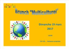 Brunch multiculturel du 19.03.2017
